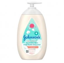 JOHNSON'S® Cottontouch™ Loción Cara y Cuerpo