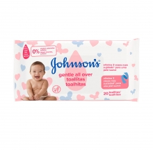 JOHNSON'S® Gentle All Over Toallitas