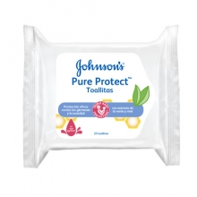 Johnsons Pure Protect toallitas