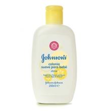 JOHNSON'S® Colonia suave para bebé cítrica