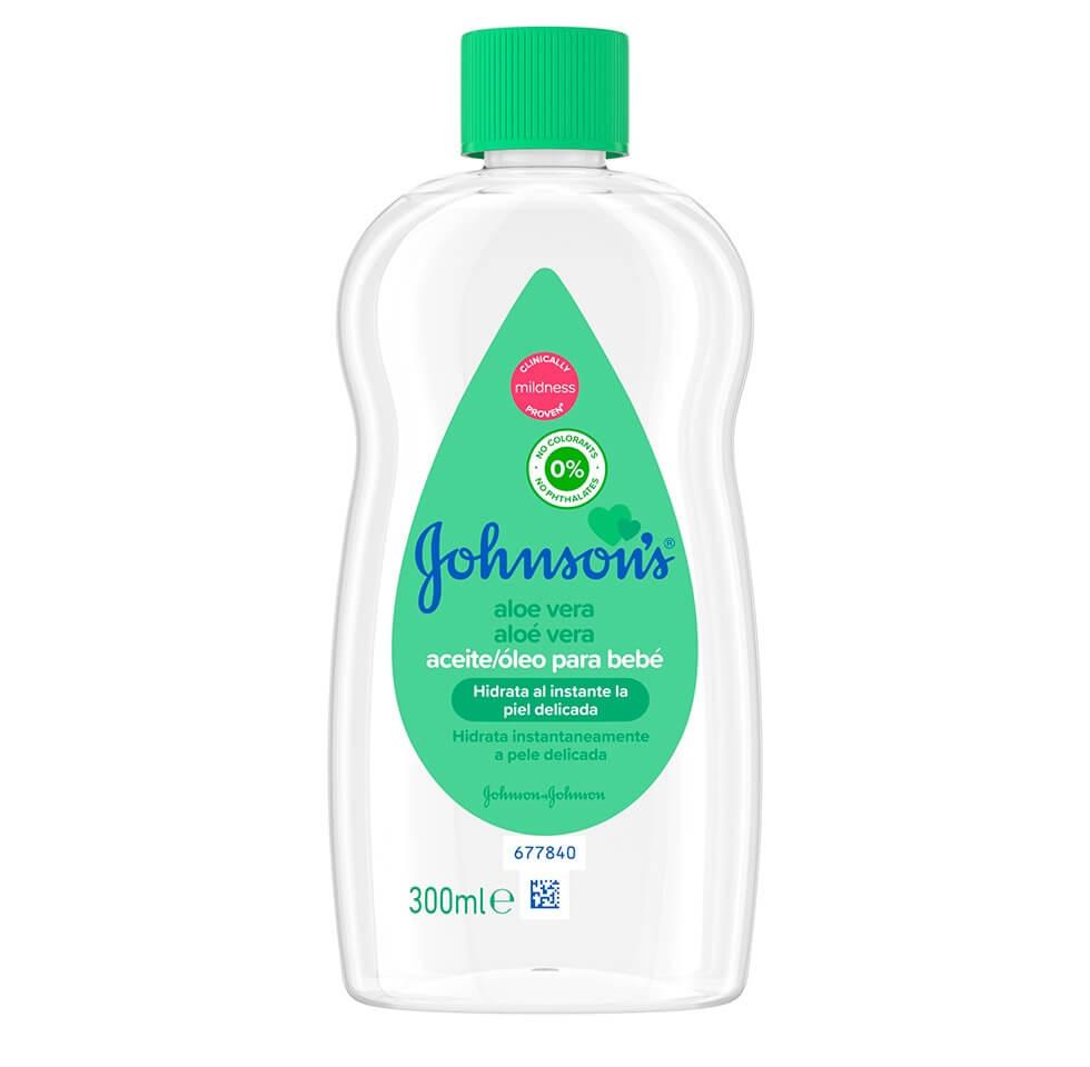 JOHNSON'S® Baby Aloe Vera Aceite