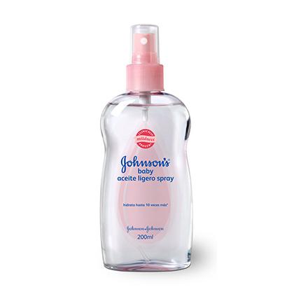 Aceite Ligero Spray Johnson'S Baby