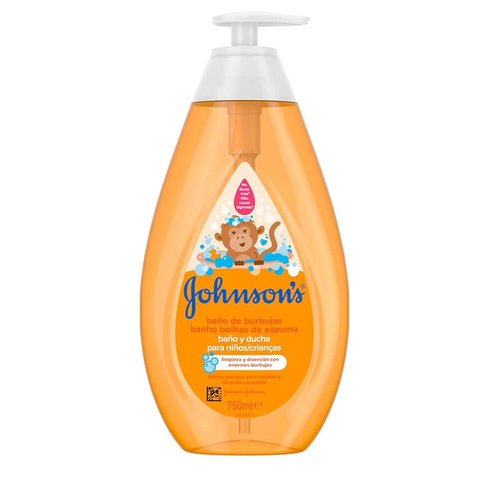 JOHNSON'S® Baño de Burbujas para Niños