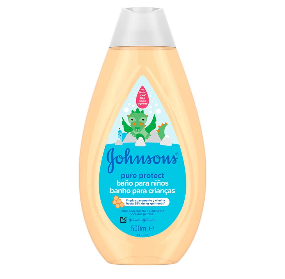 JOHNSON'S® Pure Protect Baño para Niños