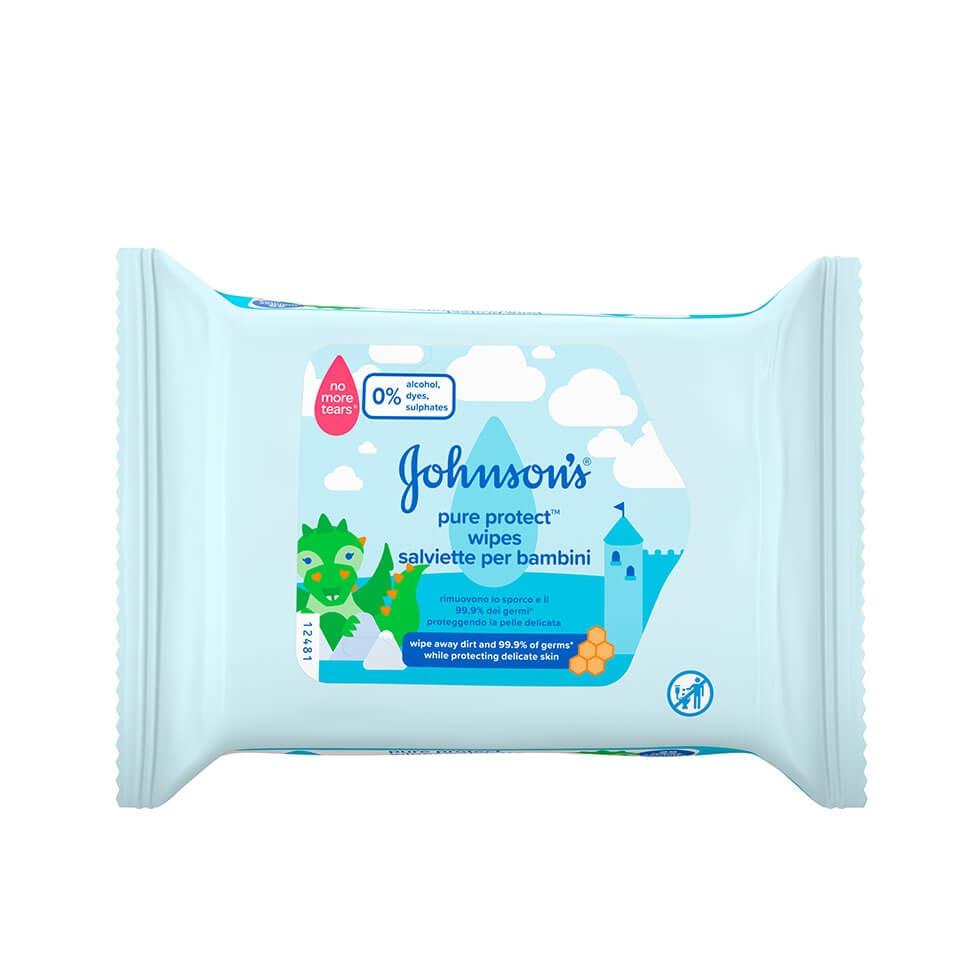 JOHNSON'S® Pure Protect Toallitas para Niños