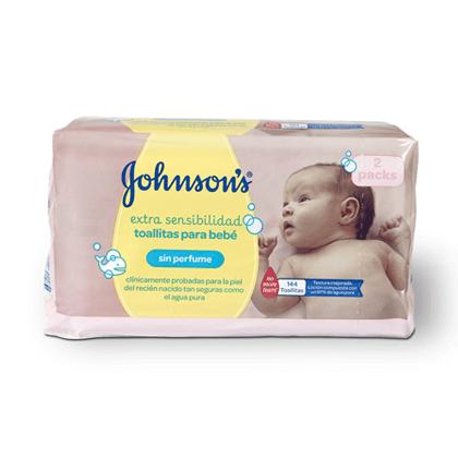 Toallitas Extra Sensibilidad Johnson'S Baby